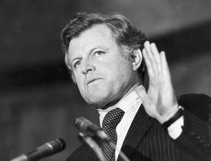 Edward Kennedy, American politician, March 1980.