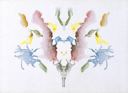 Rorschach inkblot test, 1921.