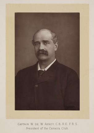 Captain William de Wiveleslie Abney, English chemist, c 1900.