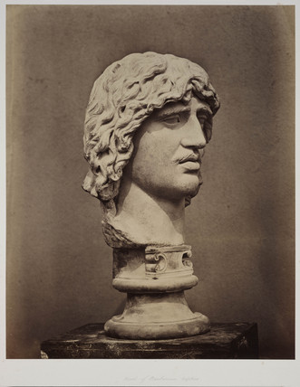'Head of Barbarian Captive', 1854-1858.