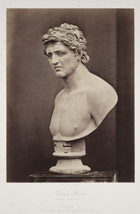 'Greek Hero, (Knight Collection)', c 1857.