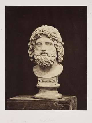 'Head of Jupiter', 1854-1858.