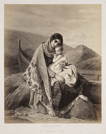 'The Neapolitan Mother', 1854-1858.