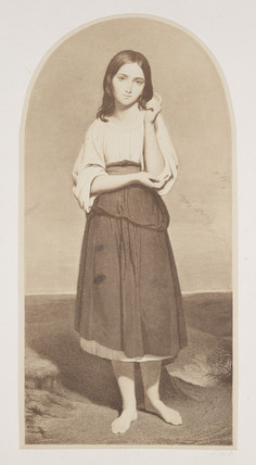 'Portrait of a girl', c 1856.
