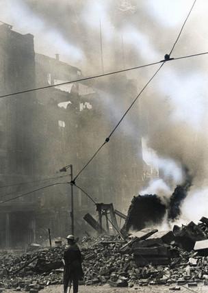 Blitz, Liverpool, 1940s.