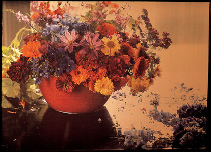 Still life study of flowers, c 1908.