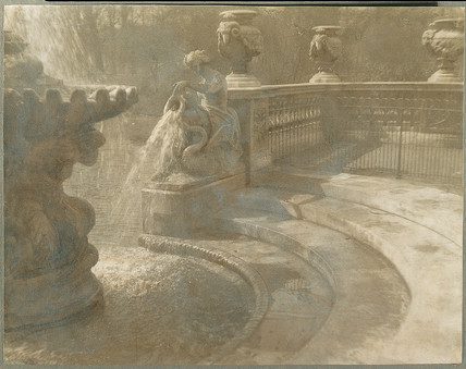 The Fountains, Kensington Gardens, London, 1906-1908.