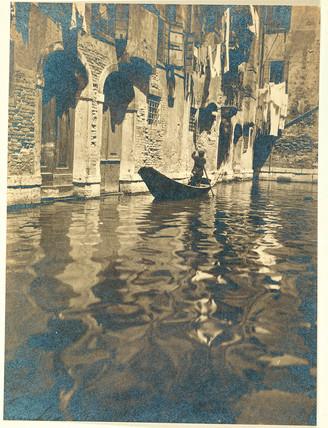 'A Venetian by-way', c 1920.