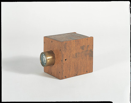 William Fox Talbot's mousetrap camera, c 1835.