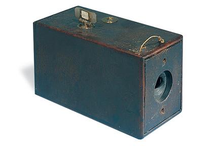 The first Kodak camera, 1888.