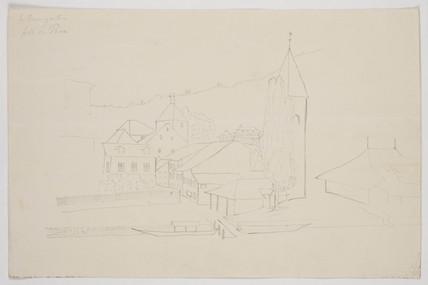 'Le Baumgarten, pres de Thun', Switzerland, July 1833.
