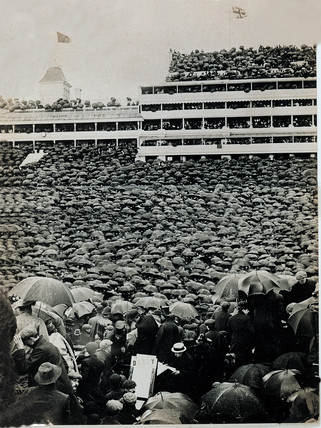 'The Derby', c 1909.