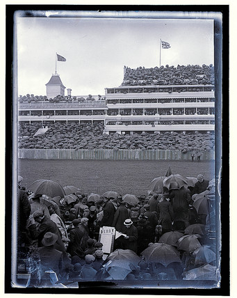 'The Derby. Stadium', c 1909.