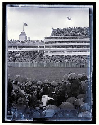 'The Derby. Stadium', c 1909.