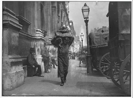 Smithfield porter, London, c 1893.