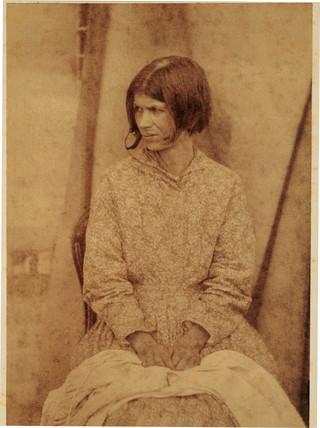 Mental patient, 1855.