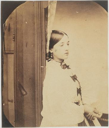 Charlotte Mary Dodgson, 1862.