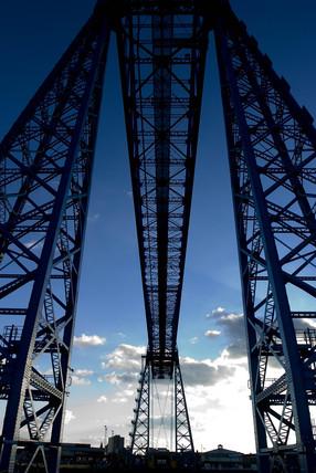 Middlesbrough Transporter Bridge, 2005.