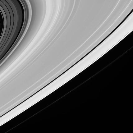 Saturn's rings, 20 July 2005.