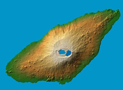 Ambae Island, Vanuatu, c 2000.