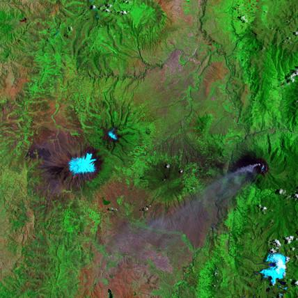 Chimborazo and Tungurahua, Ecuador, September 16 2001.