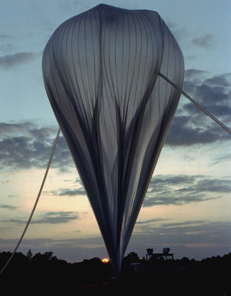 High-altitude balloon.