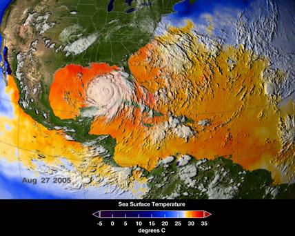 Hurricane Katrina, August 25-27, 2005.