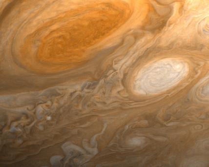 Jupiter's red spot, 1979.