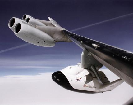 X-38 crew return vehicle, c 2001.