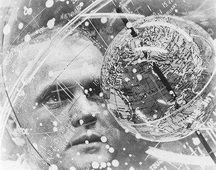 John Glenn, American astronaut, February 1962.