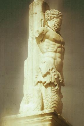 Triton on the Athenian Agora, Athens, 2004.