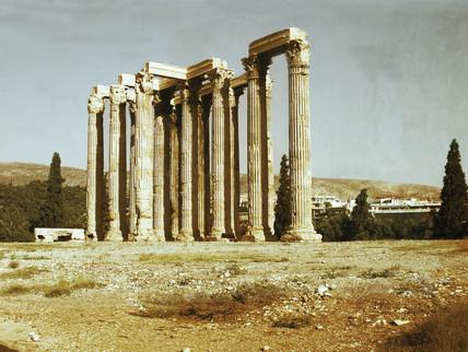 Temple of Zeus, Athens, 2004.