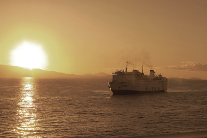 'The Crossing', (sailing from Piraeus), 2004.
