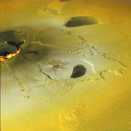 Eruption on Io, 22 February 2000.