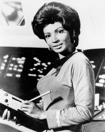 Nichelle Nichols, NASA recruiter, 24 March 1977.