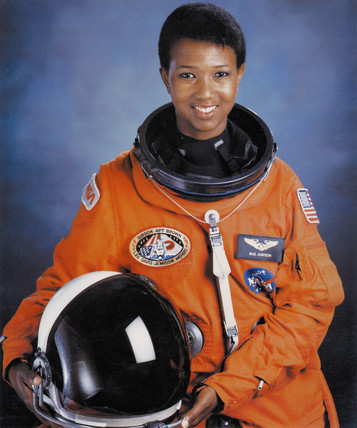 Dr Mae C Jemison, first African-American woman in space, July 1992.
