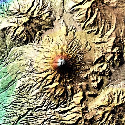 The Cotopaxi Volcano, 19 February 2000.
