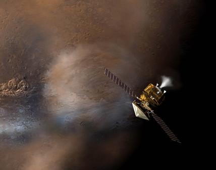 Mars Reconnaissance Orbiter, 2005.