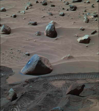 'Wishstone' Martian rock, c 2005.