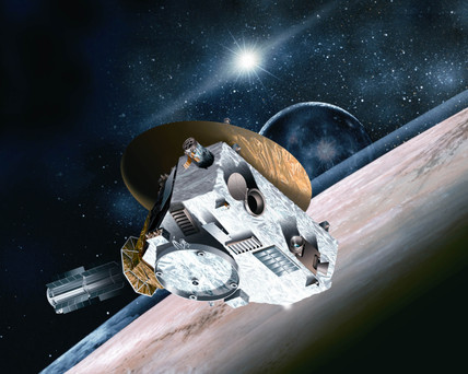 New Horizons mission to Pluto.