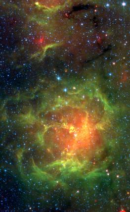 Trifid Nebula, c 2005.