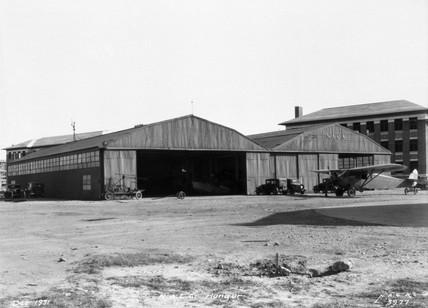 NACA hangars, Langley Memorial aeronautical Laboratory, USA, 1931.