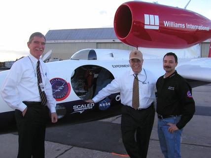 Virgin Atlantic GlobalFlyer, 3 March 2005.