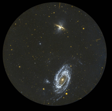 Galaxies M81 and M82, c 2005.