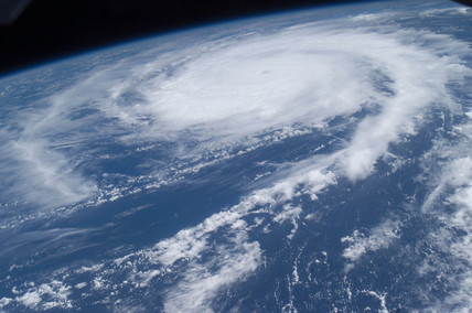 Hurricane Frances from space, August 2004.