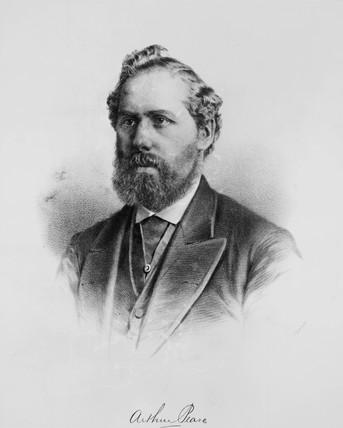 Arthur Pease, c 1875.