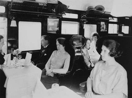 Third class open coach, 10 July 1923.