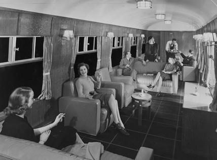 LMS Club Saloon, 1939.