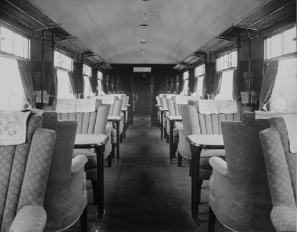 LNER restaurant car.