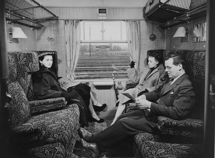 British Railway standard first class coach, 1951.